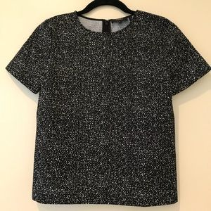 NWOT Theory Stretch Crop Top